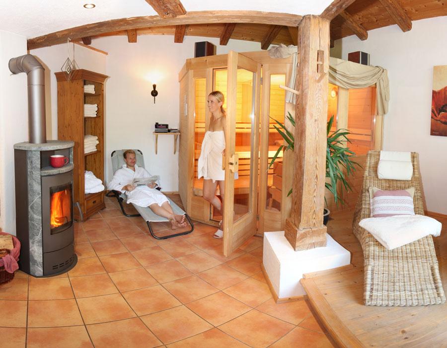 Sauna am Bauernhof